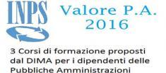 Valore P.A. corsi di formazione 2016